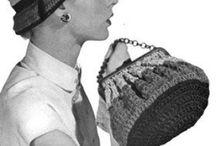 crochet vintage: bags and hats / free vintage, antique, retro crochet patterns
