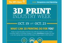 3D Print / You can use 3D printing to create prototypes or one-of-a-kind items for your small business. Visit one of our many locations that offer 3D printing services and let The UPS Store bring your ideas to life.