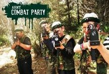 Army combat Party / Army combat party ideas
