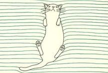 art: animal illustrations / by Kate {Striped Cat Studio}