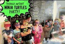 Ninja turtle Party / Ideas's for 7 year old Ninja/ Ninja Turtle Birthday Party