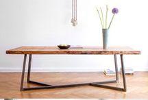 Tische / Qualitativ hochwertige Tische von Livior aus massivem Holz in unterschiedlichen Variationen: Esstische, Couchtische oder Beistelltische. www.livior.de