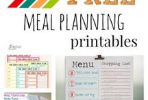 Free Printable Meal Planners / Lots of free printable meal planners