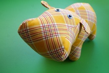 Stuffies-Toys and Dolls for the LO / Animals and stuffed things and often both. / by Bonnie Fortune