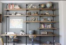 Bookshelves / by Bonnie Fortune