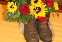 Events and Floral / Floral design and event planning and decorating with the Sartell girls..