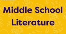 Middle School Literature / Middle-grade literature guides and reading recommendations. #midleved #middlegradebooks #middleschool