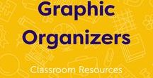 Graphic Organizers / Our favorite graphic organizers for K-12. #graphicorganizer