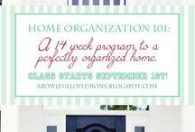 Organization  / by Christy Brockman