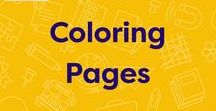 Coloring Pages / This board includes holiday coloring pages, color-by-number worksheets, alphabet activities, coloring pages of famous historical figures, and coloring pages featuring popular children's book characters.