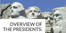 Presidents' Day Teaching Ideas / Honor past U.S. presidents with these crafts, printables, and activities for Presidents' Day. Use these resources to celebrate Abraham Lincoln's birthday (February 12), George Washington's birthday (February 22) and Presidents' Day (third Monday in February).