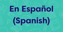 En Español (Spanish) / Printables, flashcards, and resources for teaching Spanish as a foreign language and for Spanish speakers learning English. #ELL #ESL #Spanish