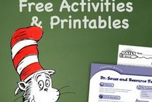 Dr. Seuss in the Classroom / Celebrate Dr. Seuss Day (March 2) and Read Across America Day with these Seuss-themed printables, crafts, lesson ideas, and teaching units.