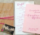 Wedding Stationery // Hochzeitskarten