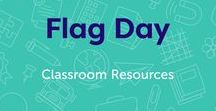 Flag Day / Flag Day is June 14. Use these printables to learn about the history of the U.S. flag, and celebrate this patriotic day with fun art activities. #FlagDay
