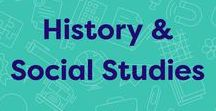 History & Social Studies / Teaching resources for social studies, including mini-lessons, printables, PowerPoint slideshows, digital books, and references.