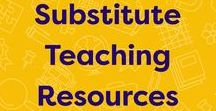 Substitute Teaching Resources / Prepare for your absence. Create a folder with emergency sub plans, important classroom information, and a feedback form for substitute teachers.