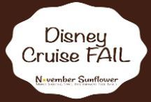 Disney Cruise Line FAIL / The story had to be told, because there's too many families taking cruises on Disney Cruise Line who may not even know the dangers for their kids.