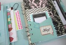 Planners and Journals / Day planners, hand made journal books, free printables and inspiration for customizing and organizing your life planner.