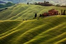 Tuscany - Heart in the art
