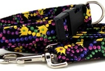 Mardi Gras Collars / Mardi Gras dog collars, leashes and cat collars