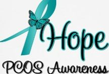 PCOS Awareness / I hope that this can be a place where women with PCOS can find support from other women that have PCOS, too. Please leave a comment if you would like an invitation to the board. Help bring awareness to PCOS!