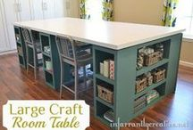 Craft corner / Much needed space to create. / by Kacy Wilson