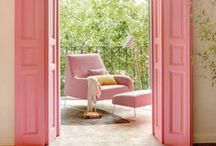 Tickled Pink / Tickled pink is a board compiled of design moments that caught my eye and inspired me. The love of pink doesn't have to be girly or young - when used correctly it can work in any space.