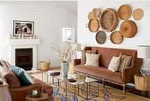 MML: Home Tours / Step inside gorgeous homes, both big and small from around the world. Be sure to get the look at the bottom of each home tour post for clickable shopping!