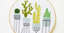 Hand Embroidery / Hand embroidery projects, embroidery, hand embroidery, embroidery DIY, embroidery hoop, how to do embroidery, beginner embroidery
