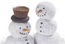 {Snowman/Winter} / Snowman and winter ideas for Christmas decorating or just making the house festive for the season!