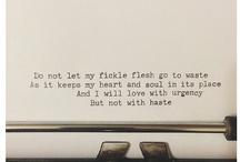 Words. / by Amanda Ward