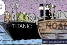 Titanic in Political Cartoons / No political opinions are being endorsed here.  The point is the ship, not the opinions in any particular cartoon.