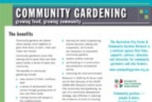ACFCGN fact sheets / by AustCommunityGardens