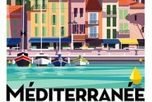 WIP:VitaSmeralda / A work in progress for drawing the good summer life in Mediterraneo.