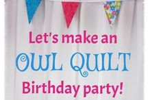 Birthday Ideas - sewing