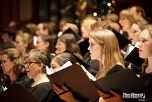 Music Department / The Northwest University Music Department offers several ensembles open to all students by audition: Concert Choir, NU Jazz Band, Vocal Jazz, Wind Ensemble, String Ensemble. Here are some photos from their events or concerts.  / by Northwest University