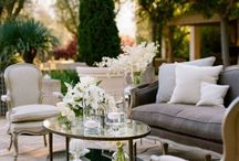 Outdoor Spaces | cozy! elegant! green :) / Outdoor Gardens and Exterior Gathering Places and Spaces by dD