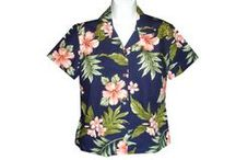 Hawaiian Shirts / I've always loved colorful Hawaiian shirts.  It's a style that looks good on almost everyone.