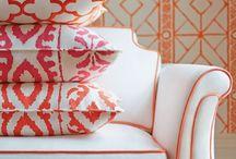 Fabric Fun | Wallpaper 2 | dD / Fabric, Upholstery, Cushions, Wallpaper = Resources | Follow My Blog Debbi DiMaggio A Grateful Life @ www.debbidimaggioblog.com
