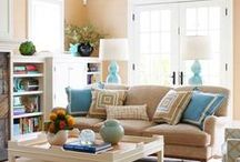 Цветовые решения для комнаты / Здесь собраны подходящие для меня варианты цветовых решений. Мне нужно ориентироваться на следующее цвета - голубой, синий, зеленый, желтый, коричневый и золотой