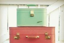 Vintage Suitcases  / Vintage suitcases / by Lady Mustard