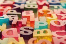 Typography / by Genna Erickson