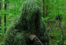 Ghillie Suits / In Ghillie Suits it's all about concealment, so whether you are a Bow Hunter, Military Sniper or into Paintball or Airsoft you can remain undetected while stalking your prey. We have over 300 products to get your 'Ghillie On' with.