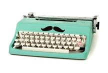 Typewriter / Typewriter / by Lady Mustard