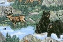 Wildlife fabric