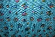 Pow-wow fabric