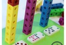 Math for Little Ones / Math activities for preschoolers.