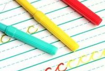 Writing for Little Ones / Handwriting activities for little ones.