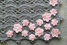 Crochet Granny Squares/Blankets / by Amber Saulsbury